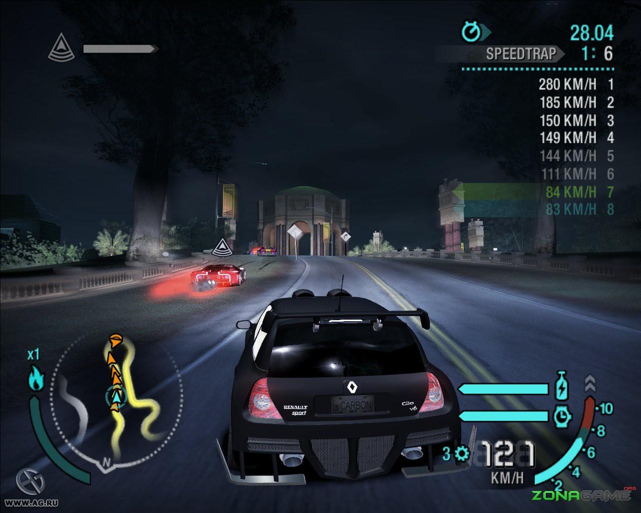 скачать игру need for speed carbon через торрент