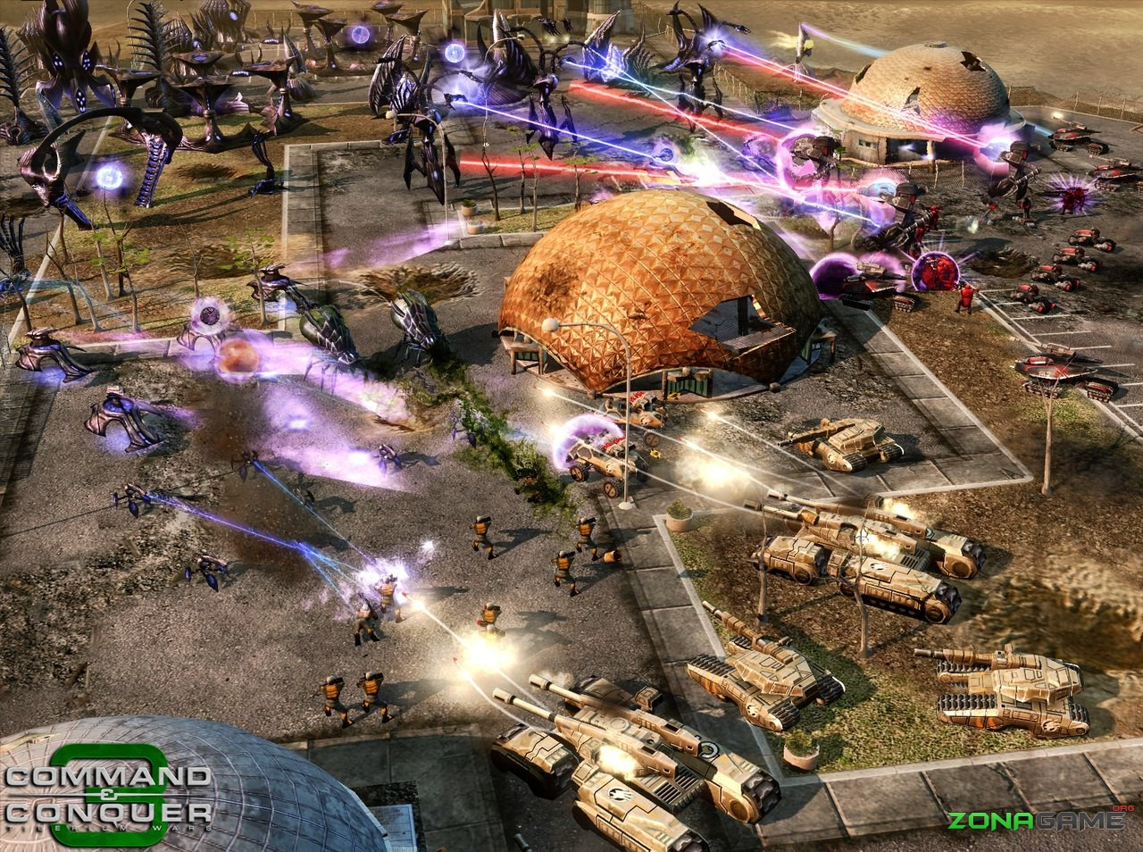 Игру Command And Conquer 3 Tiberium Wars