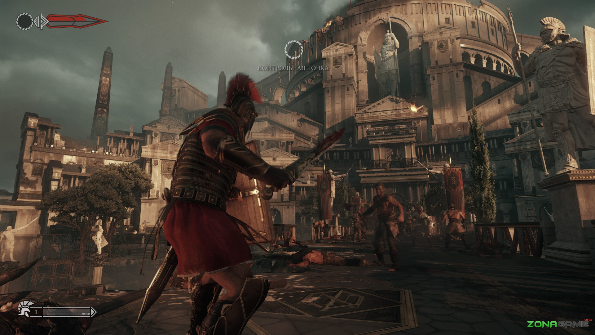 Ryse: Son of Rome (2014) PC - Скриншот 3