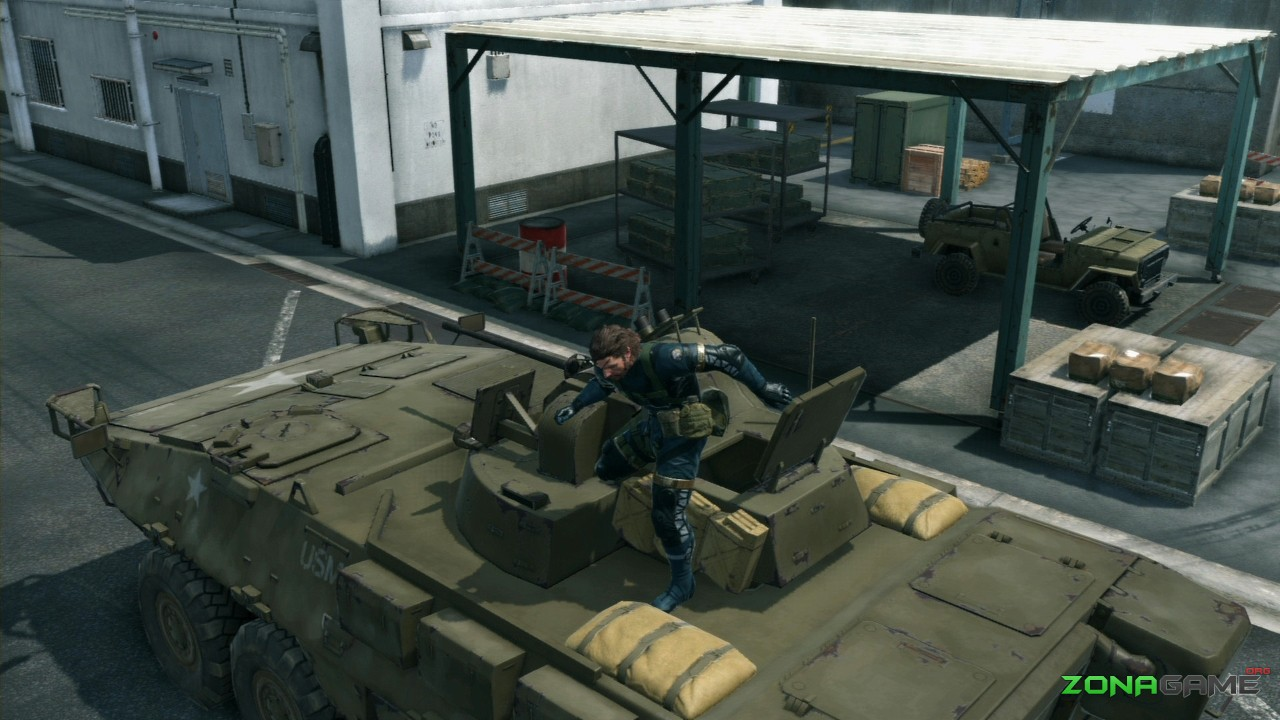 Metal Gear Solid V: Ground Zeroes (2014) PC - Скриншот 1