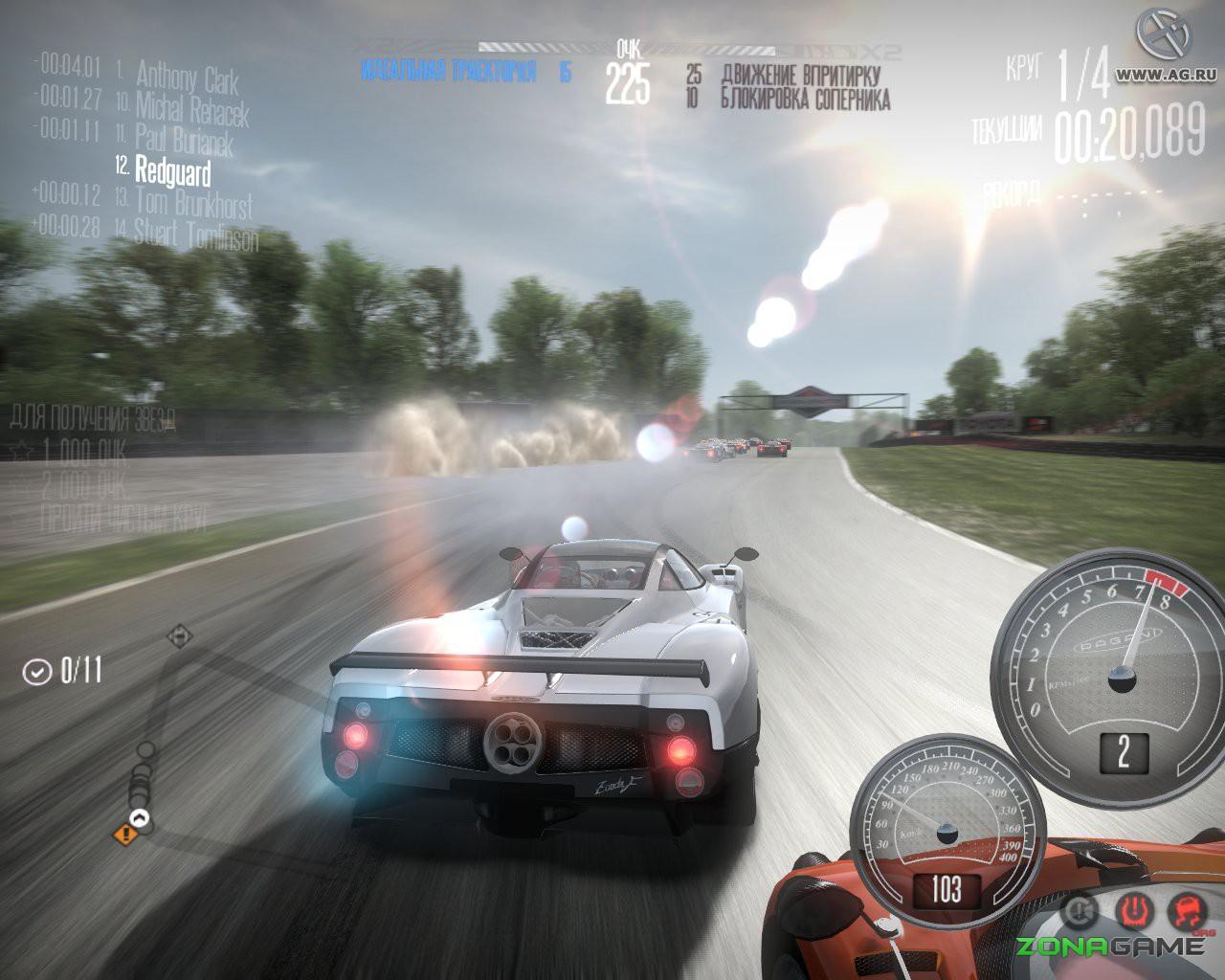 видео гонок игр