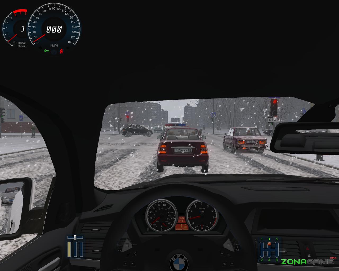 Симулятор вождения автомобиля зима скачать торрент