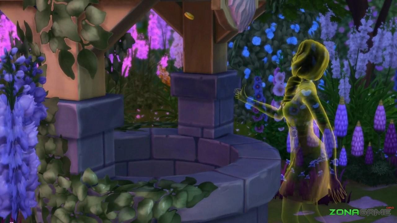 Симс 4 скачать романтический сад скачать.