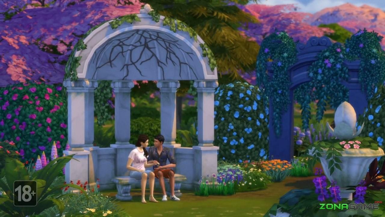 The sims 4 романтический сад скачать торрент бесплатно на pc.